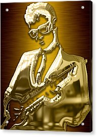 Buddy Holly Collection Acrylic Print by Marvin Blaine