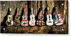 7 Continents Of Sounds Acrylic Print