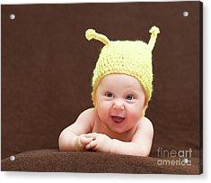 Cute Newborn Portrait Acrylic Print