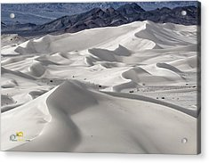 Acrylic Print featuring the photograph Dumont Dunes 8 by Jim Thompson