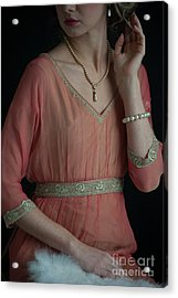 Edwardian Woman  Acrylic Print