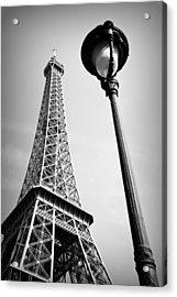 Eiffel Tower Acrylic Print by Chevy Fleet