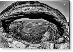 famous Mesa Arch in Canyonlands National Park Utah  USA Acrylic Print by Alex Grichenko