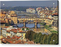 Florence Acrylic Print by Joana Kruse