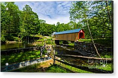 Green River Covered Bridge. Acrylic Print