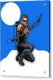 Hawkeye Collection Acrylic Print by Marvin Blaine
