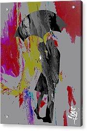 iLove Collection Acrylic Print by Marvin Blaine