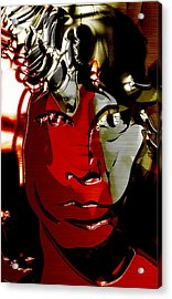 Jim Morrison The Doors Collection Acrylic Print by Marvin Blaine