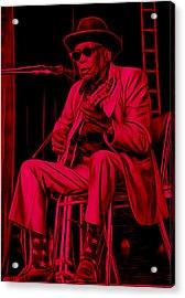 John Lee Hooker Collection Acrylic Print