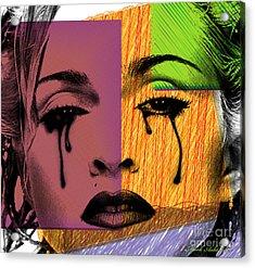 Madonna  Acrylic Print by Mark Ashkenazi