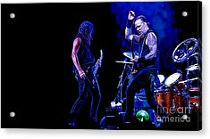 Metallica Collection Acrylic Print by Marvin Blaine