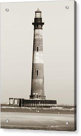 Morris Island Lighthouse  Acrylic Print by Dustin K Ryan