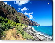 Na Pali Coast Acrylic Print by Peter French - Printscapes