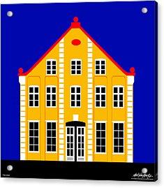 7 North Street Acrylic Print by Asbjorn Lonvig