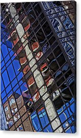 Reflective Glass Architecture Acrylic Print