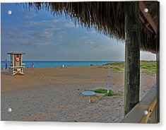 Acrylic Print featuring the photograph 7- Southern Beach by Joseph Keane