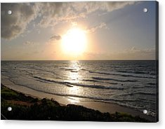 Sunset At Jaffa Beach 10 Acrylic Print