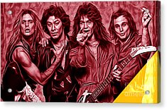 Van Halen Collection Acrylic Print by Marvin Blaine