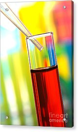 Laboratory Experiment In Science Research Lab Acrylic Print