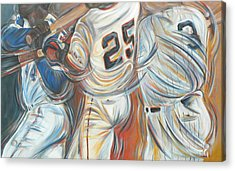 700 Homerun Club Acrylic Print by Redlime Art