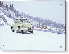 71 Vw Bug Acrylic Print