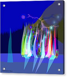 720 - Sailing A Acrylic Print