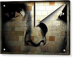 Digital Art Acrylic Print by HollyWood Creation By linda zanini