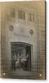 75 State Street Acrylic Print