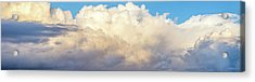 Acrylic Print featuring the photograph Clouds by Les Cunliffe