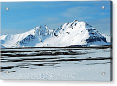 79 Degrees North B Acrylic Print by Terence Davis
