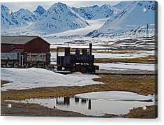 79 Degrees North H Acrylic Print by Terence Davis