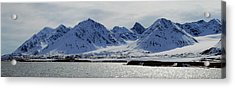 79 Degrees North N Acrylic Print by Terence Davis