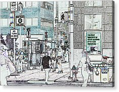 7987 Acrylic Print by Jim Simms