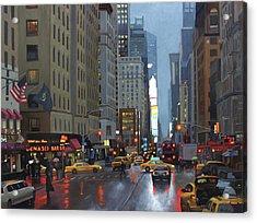 7th Avenue Acrylic Print