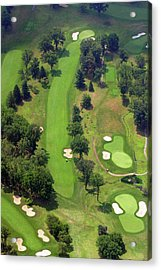 7th Hole Sunnybrook Golf Club 398 Stenton Avenue Plymouth Meeting Pa 19462 1243 Acrylic Print by Duncan Pearson