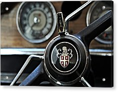 1964 Austin Westminster - Detail Acrylic Print by Cendrine Marrouat