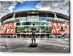 Arsenal Fc Emirates Stadium London Acrylic Print