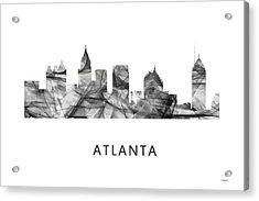Atlanta Georgia Skyline Acrylic Print