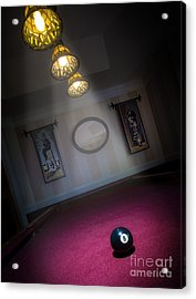 8 Ball Acrylic Print by Brian Jones