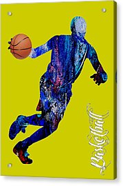 Basketball Collection Acrylic Print