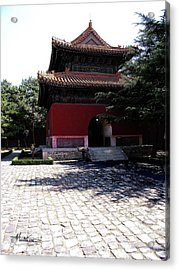 Acrylic Print featuring the photograph Beijing by Marti Green