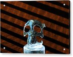 Ice Skullpture Acrylic Print