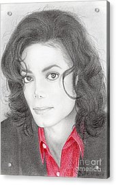 Michael Jackson #two Acrylic Print
