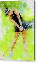 Michelle Wie Acrylic Print