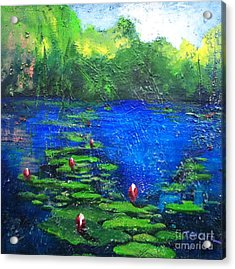 8 Mile Creek Lagoon - Bajool - Original Sold Acrylic Print