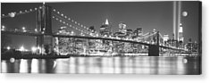 Nyc, New York City, New York State, Usa Acrylic Print by Panoramic Images