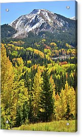 Acrylic Print featuring the photograph Red Mountain Pass by Ray Mathis