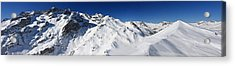 Serre Chevalier In The French Alps Acrylic Print by Pierre Leclerc Photography