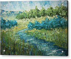South Of France Acrylic Print by Frederic Payet