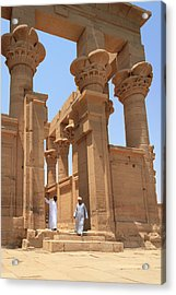 Temple Of Isis Acrylic Print